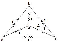 equivalent resistance between points A and B