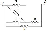 find out the resistance of R in ohms