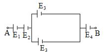 emf between node A and B