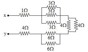 equivalent resistance between points