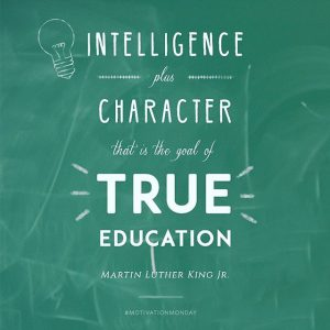 True Character Education pattern learning platform for students